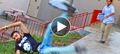 Hysterical shooting prank Watch before it gets banned
