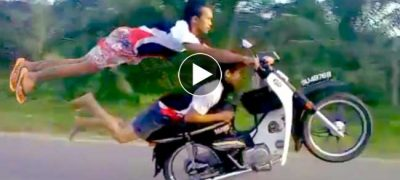 One Of The Best Motorcycle Stunt Video Clips