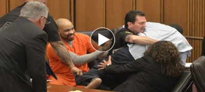 Father Attacks His Daughter Killer in Court