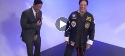 Amazing What This TV Reporter Does, Ruins The Trick Of This Fake Karate Master