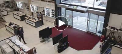 What is The Buzz: Viral Video Of A Reckless Customer At Woolacotts Electronics