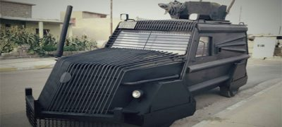 Witness Me! Kurdish Forces Rolling Into Battle with Mad Max-Style Vehicles