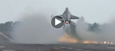 Fighter Jet plane Touch and go landing watch AMAZING Skills with JET
