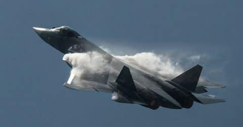 Russia's Lethal PAK FA T 50 Fight Generation Stealth Fighter Demo At MAKS